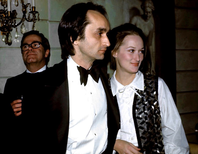 Meryl Streep and John Cazale
