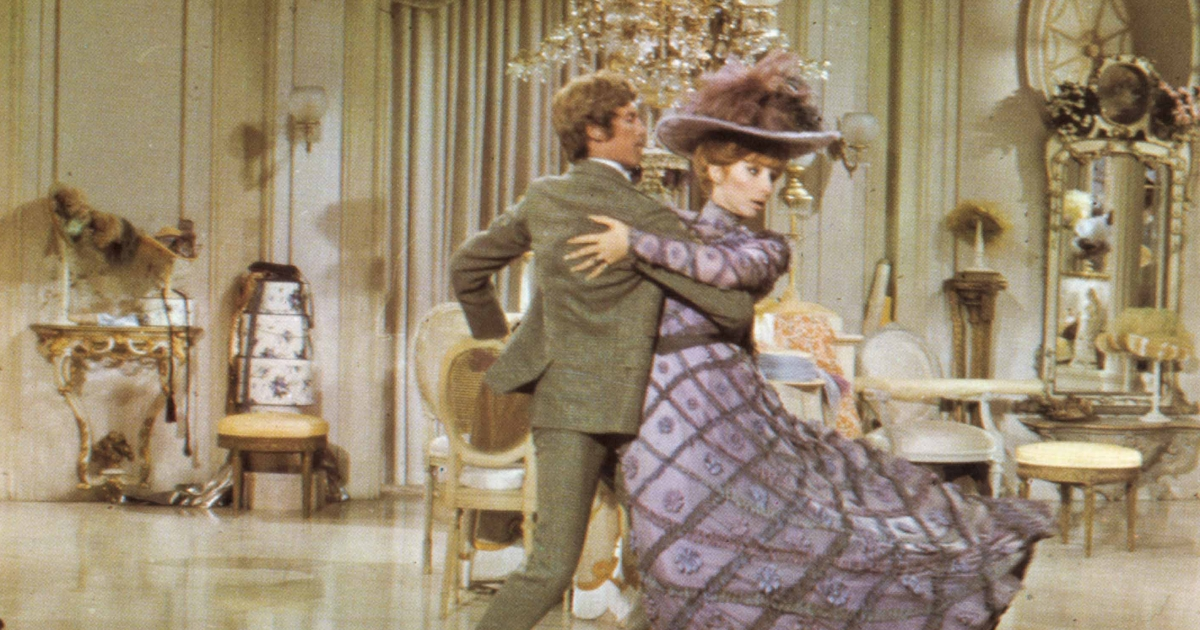 Michael Crawford Talks Musical Hello Dolly With Barbra