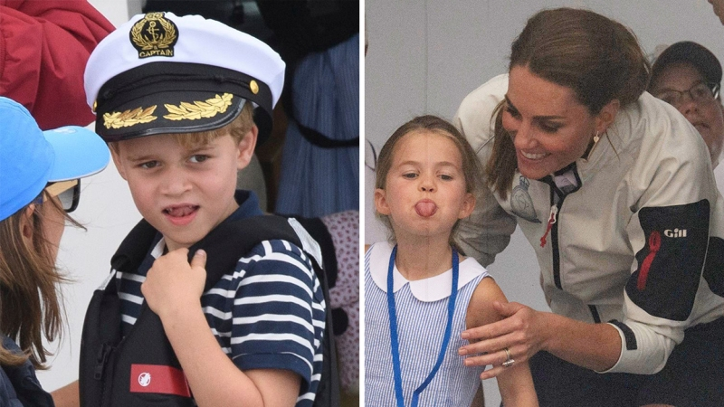 ExclusivePrince George and Princess Charlotte 'Love Being Outdoors and Running Around Freely'