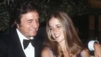 Johnny Cash and Rosanne Cash