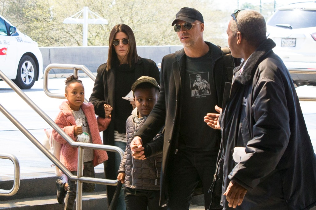 Sandra Bullock and Son Louis Spotted Out in Los Angeles: Photo