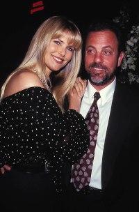 Christie Brinkley and Billy Joel 1993
