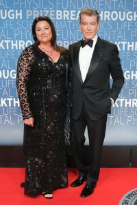 Pierce Brosnan and wife Keely