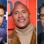 Chris Hemsworth, Dwayne 'The Rock' Johnson, Robert Downey Jr.