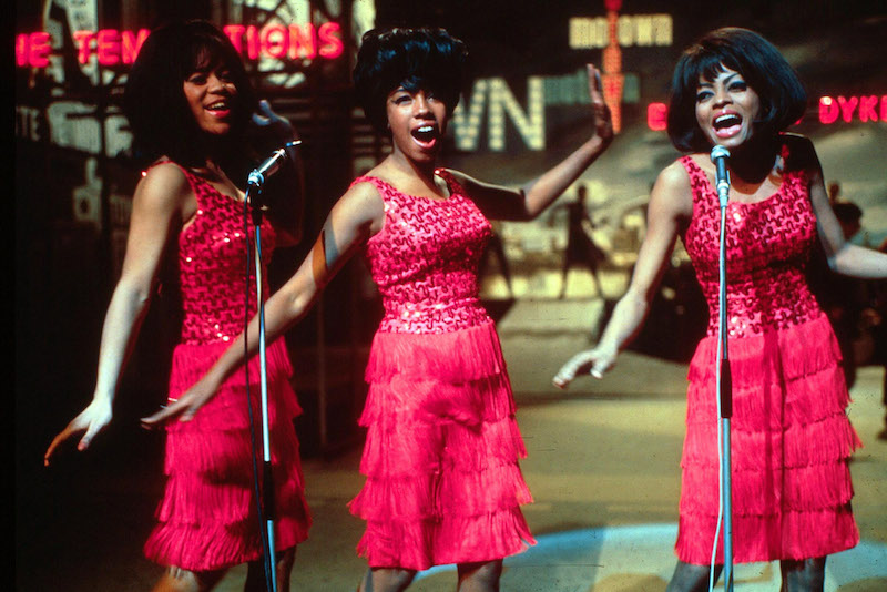 The Supremes of Motown Perform in London in 1965