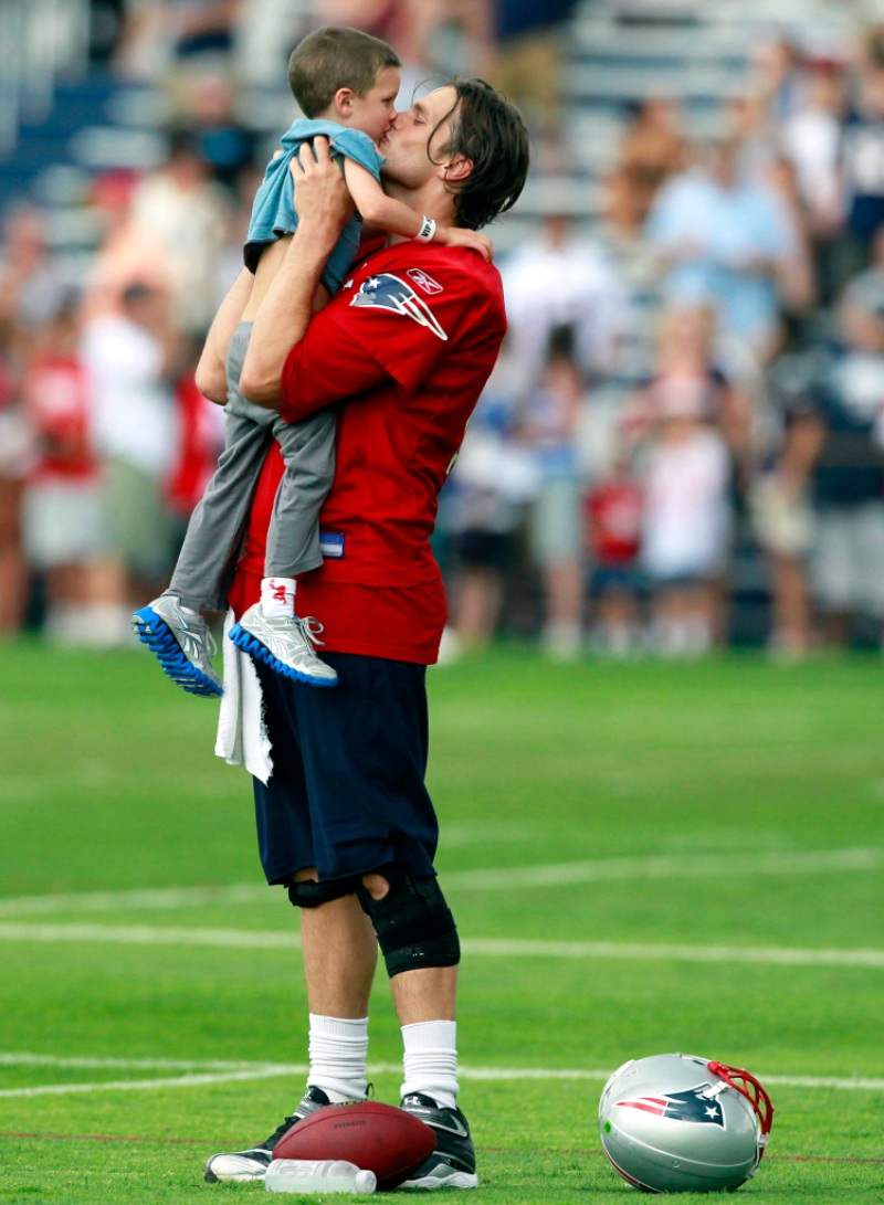Tom Brady Reveals Son Ben Likes Different Things Than Son Jack