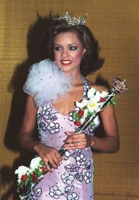 Vanessa Williams After Being Crowned Miss America in 1984