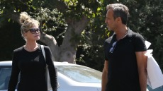 Melanie Griffith Goes Shopping With a Friend