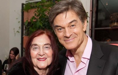 Dr. Oz and his mother