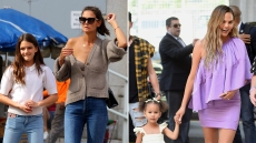 Celebrity Kids Make Public Appearances With Hollywood Parents