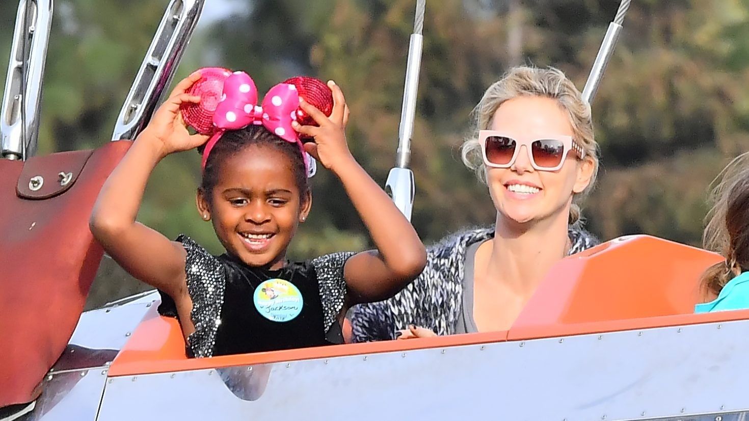 Image result for Charlize Theron kids
