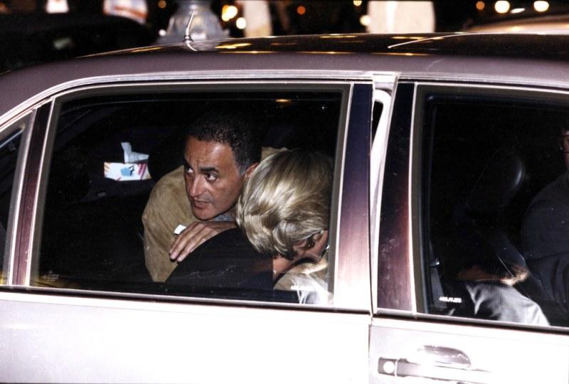 Dodi Al Fayed and Princess Diana