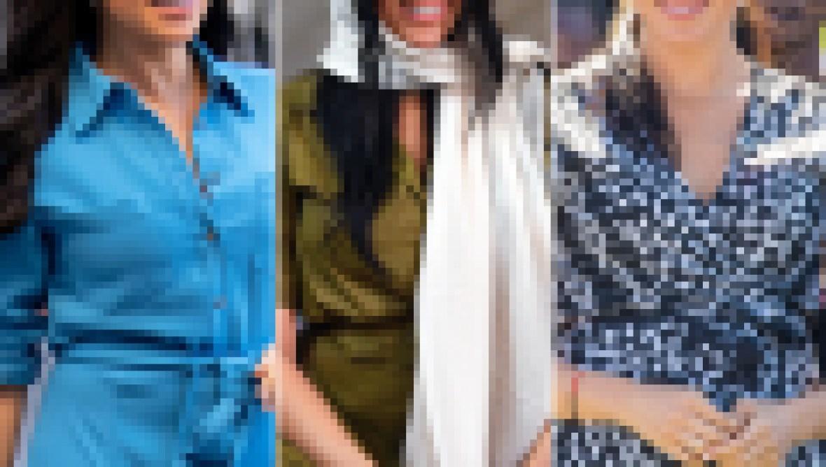 Fashion Look Duchess Meghan Royal Tour Africa