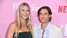Gwyneth Paltrow and Brad Falchuk Show PDA at 'The Politician' Premiere