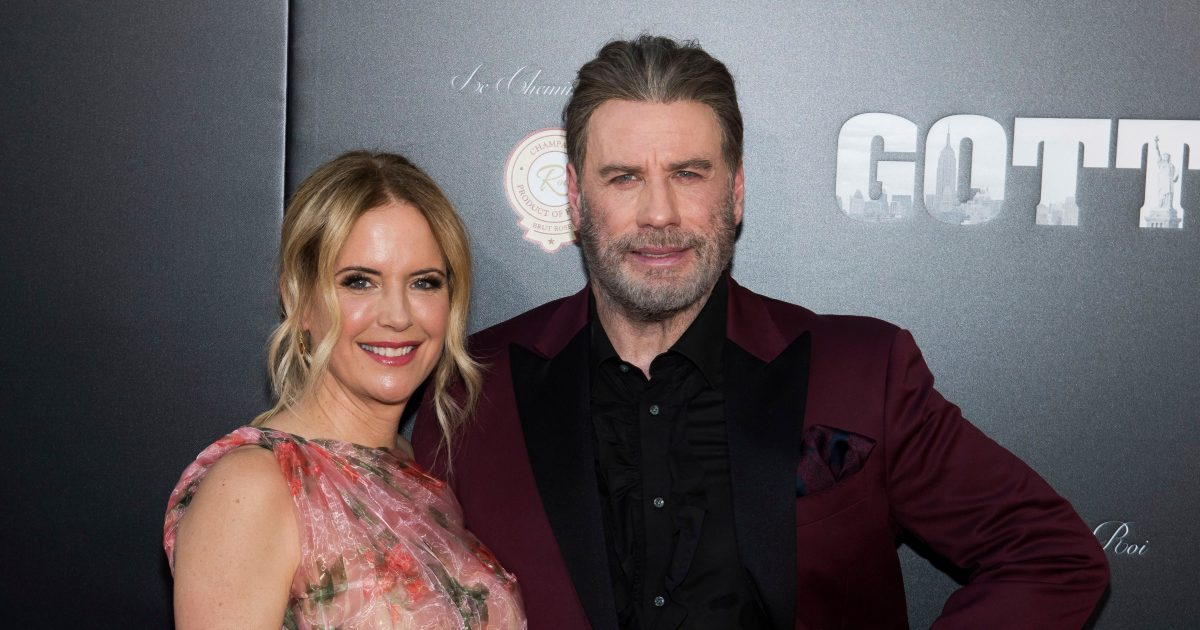 28th Wedding Anniversary Gift: John Travolta And Kelly Preston Celebrate 28th Wedding