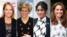 Katie Couric Princess Diana Meghan Markle Kate Middleton