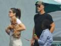 Sandra Bullock, Bryan Randall and her son