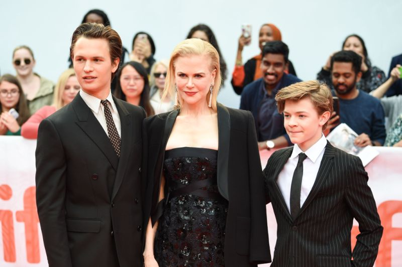 Nicole Kidman Ansel Elgort Oakes Fegley