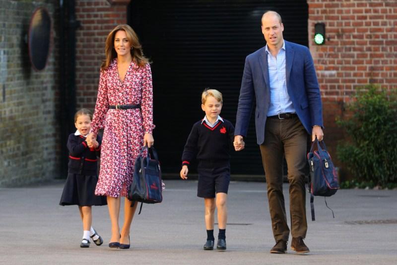Princess Charlotte Prince William Prince George Kate Middleton