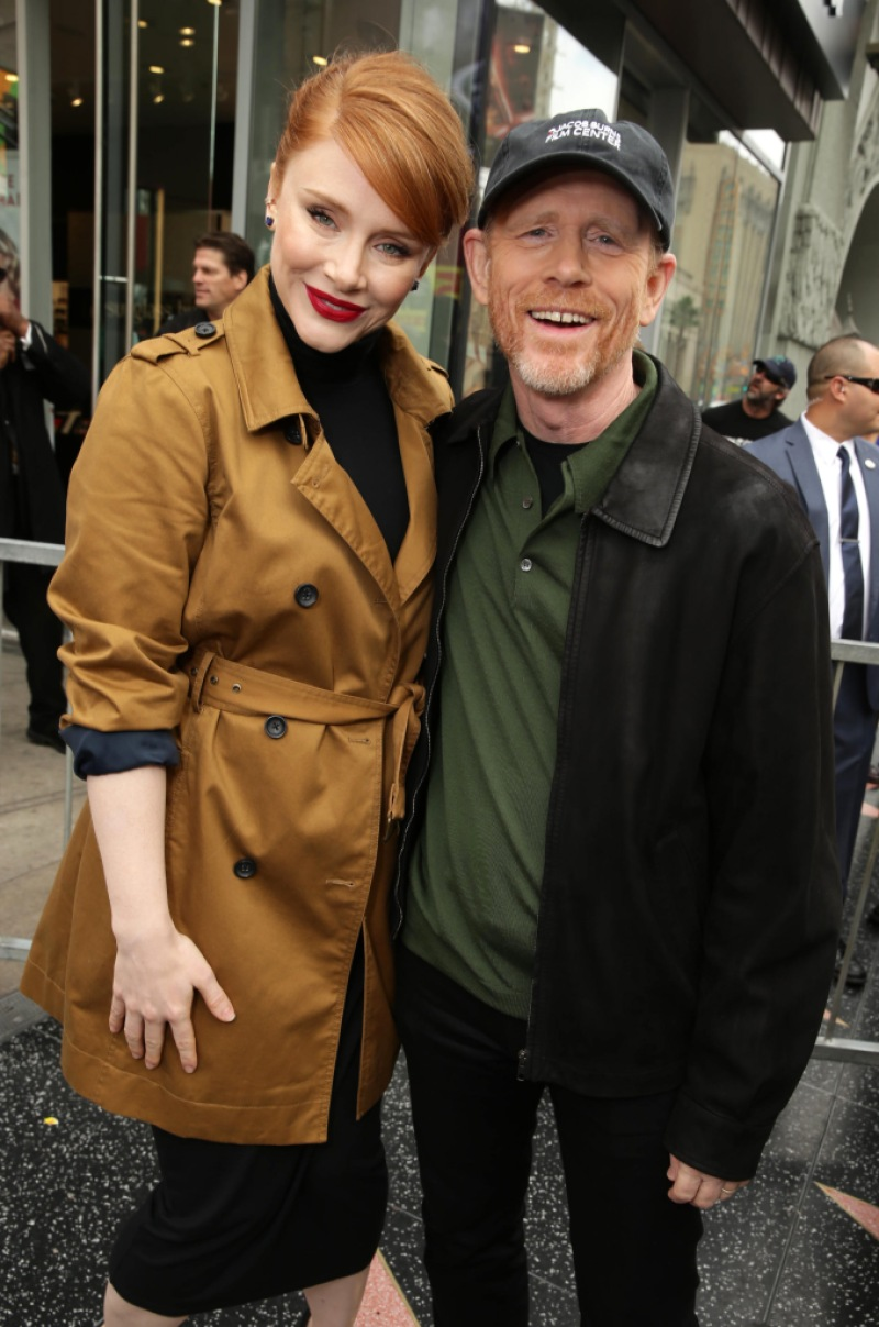 Ron Howard Bryce Dallas Howard