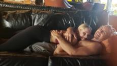 ax Shepard and Kristen Bell