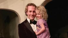 James Van Der Beek Allows Daughter, 5, to Shave Part of Her Head