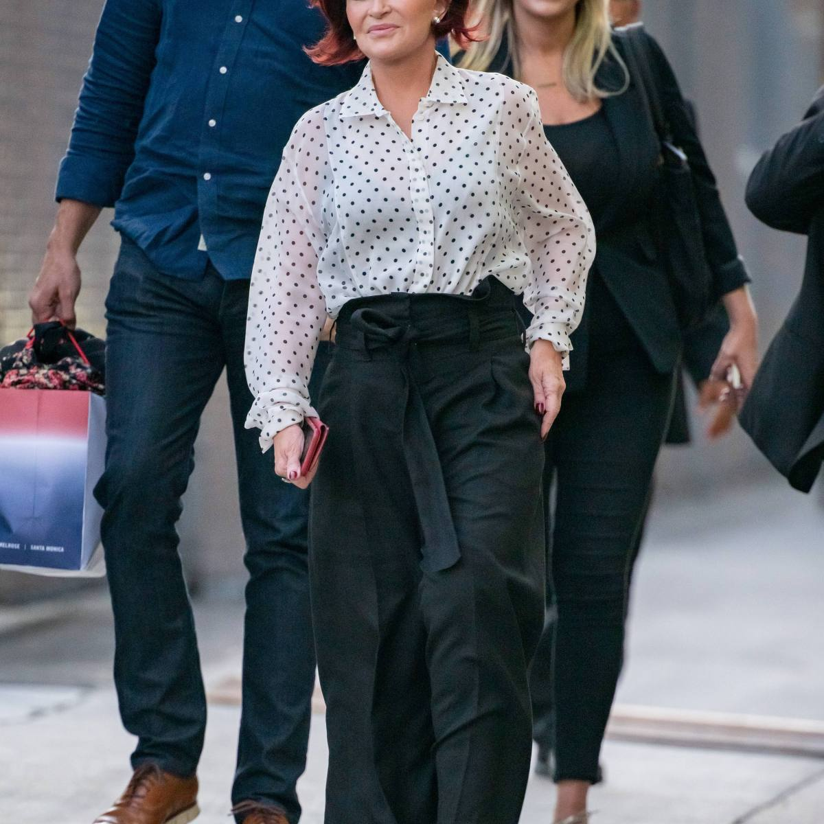 Sharon Osbourne Is Nothing But Stunning at 'Jimmy Kimmel Live!' — Have a Look!