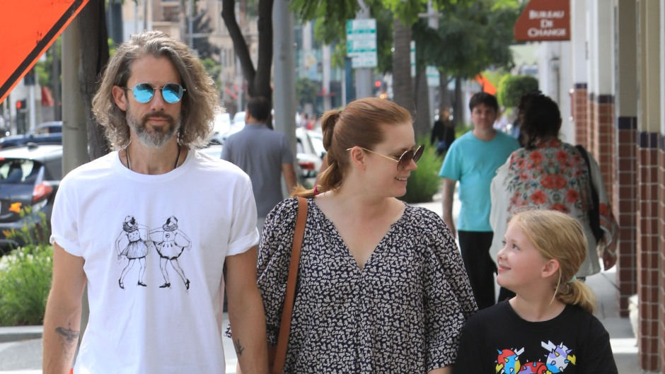 Amy Adams out with family shopping in Beverly Hills