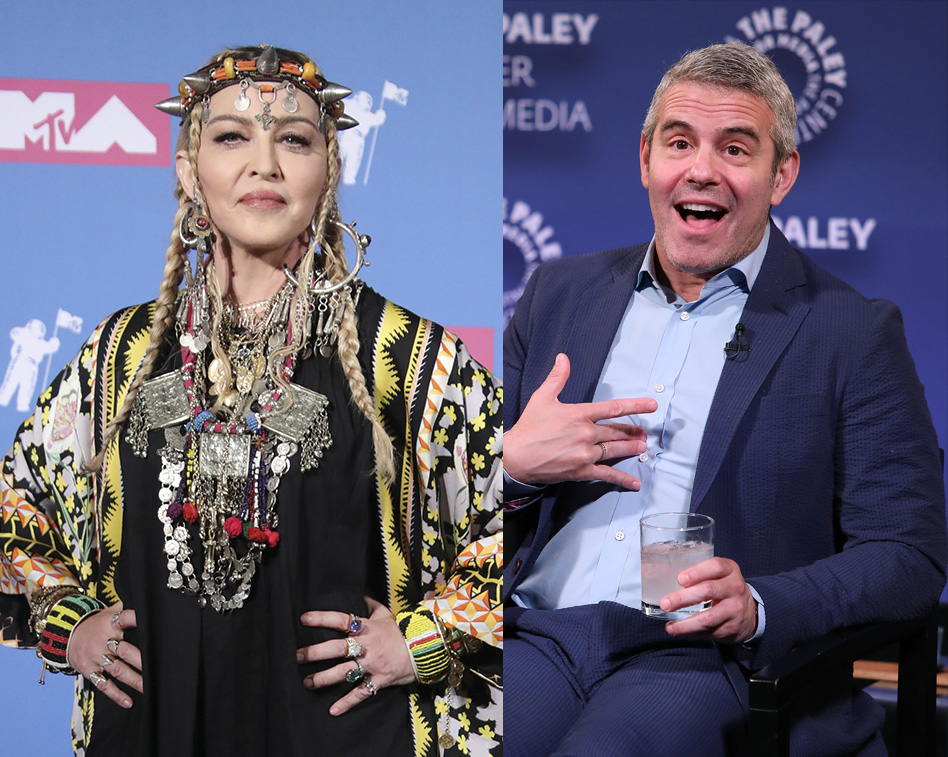Andy Cohen Reveals Polaroid Selfie He Bought From Madonna for $500 After Her 'Incredible' Concert
