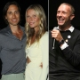 Brad Falchuk, Gwyneth Paltrow and Chris Martin