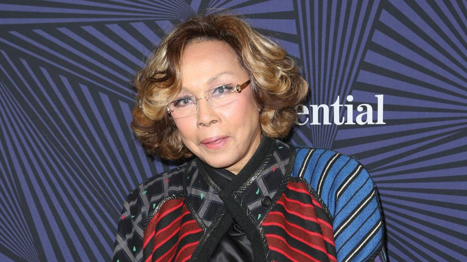 Diahann Carroll in a Colorful Outfit at an Event in February 2017