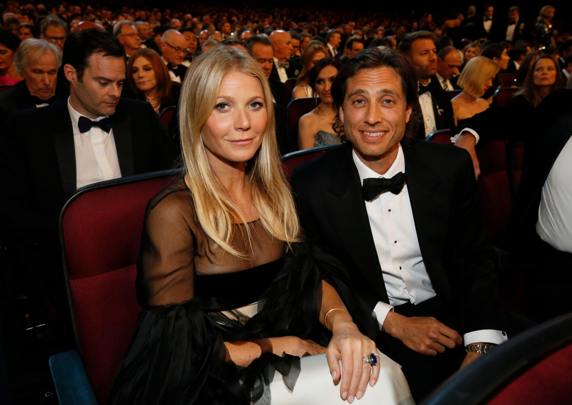 Gwyneth Paltrow and Brad Falchuck in the 2019 Emmys Audience
