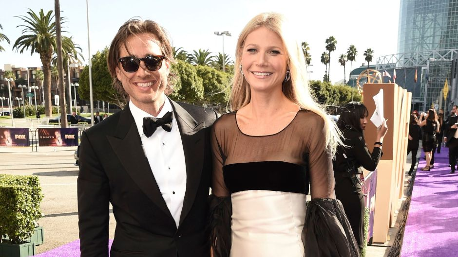 Gwyneth Paltrow and Brad Falchuk on the 2019 Emmys Red Carpet