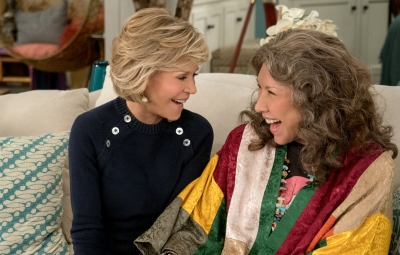 Jane Fonda and Lily Tomlin on 'Grace and Frankie'