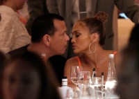 Jennifer Lopez Alex Rodriguez leaving their boat in Saint Tropez