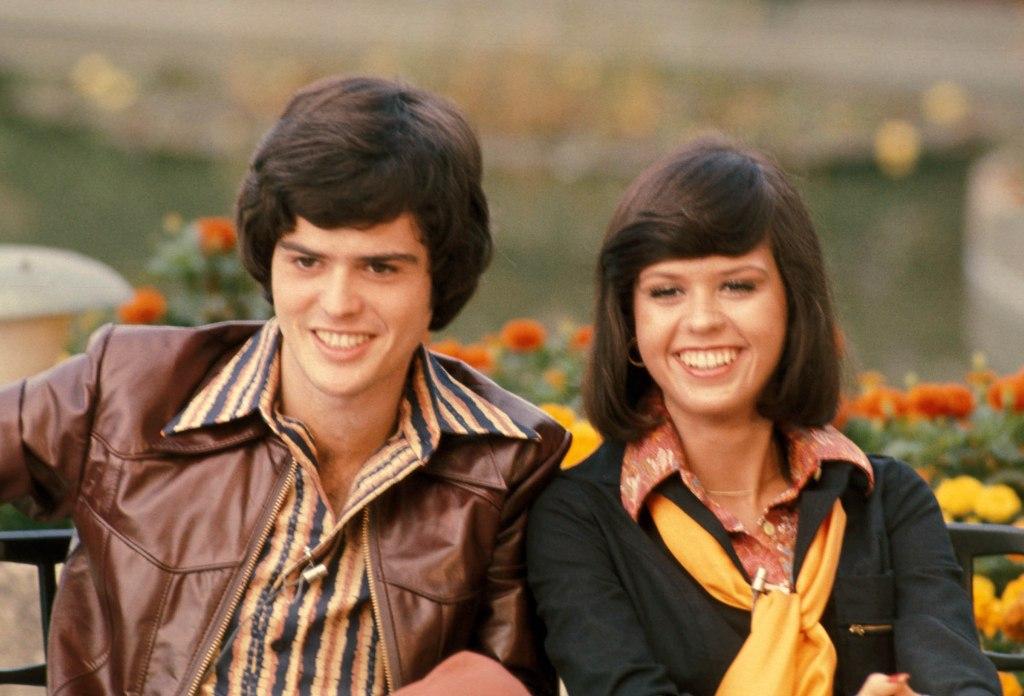 Donny Osmond and Marie Osmond 1977