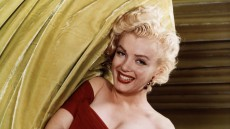 Marilyn Monroe in a Red Dress