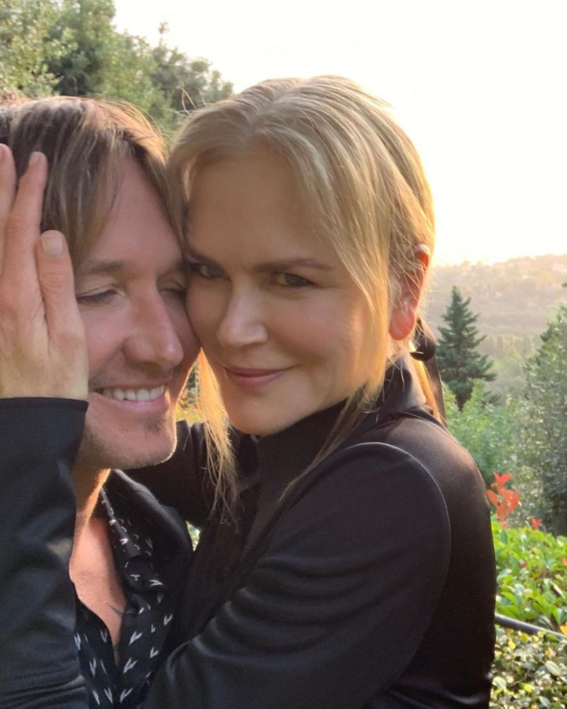 Nicole Kidman Keith Urban Anniversary: Keith Urban Shares Selfie With Nicole Kidman On Italy Vacation