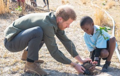 Prince Harry visit to Africa - 26 Sep 2019