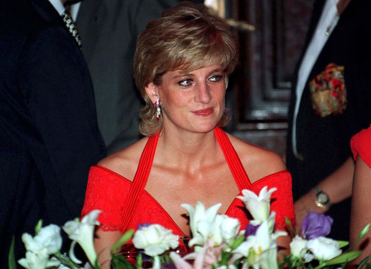 Princess Diana in Argentina - 1995