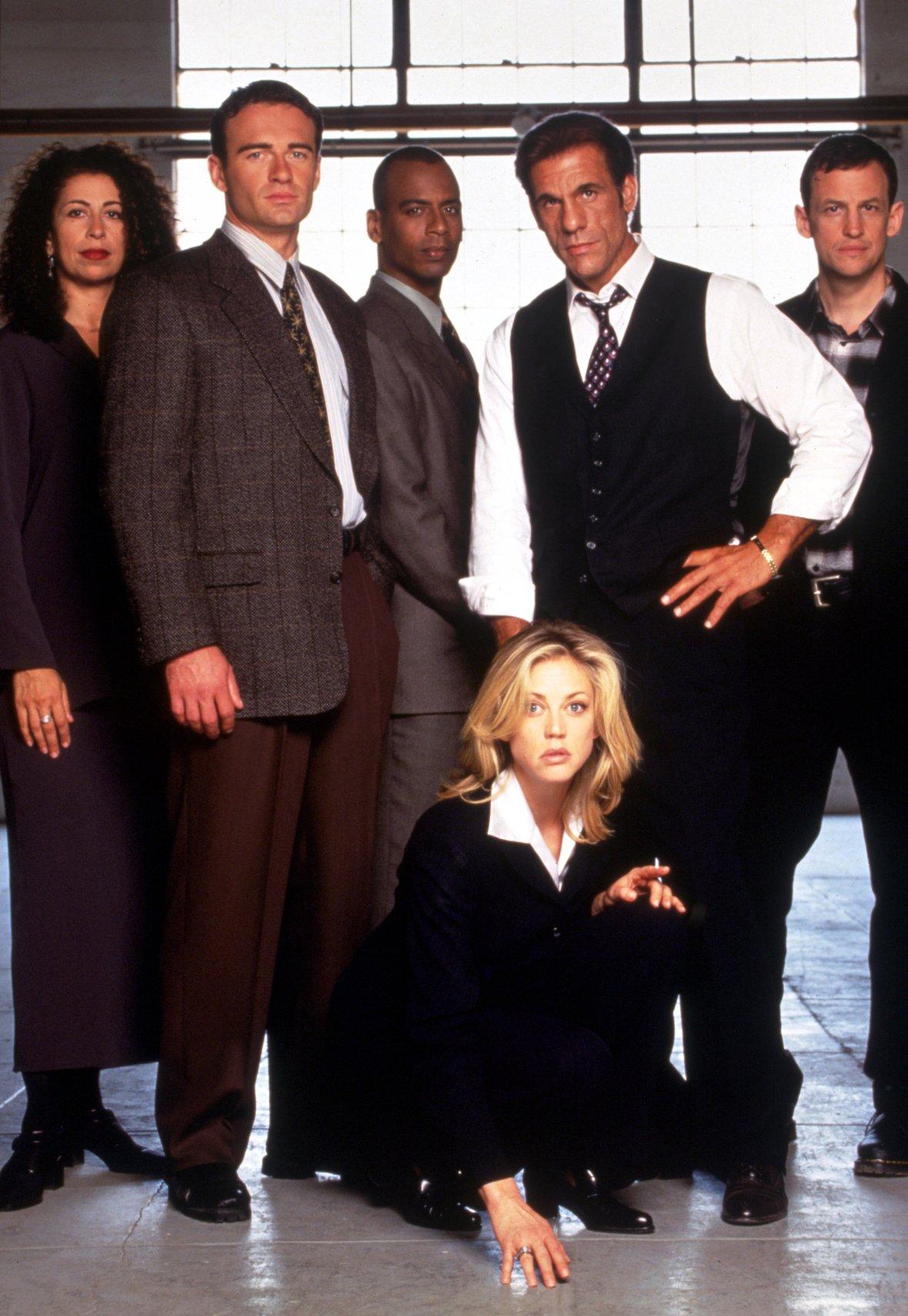 Cast of 'Profiler'