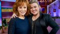 Reba McEntire and Kelly Clarkson on 'The Kelly Clarkson Show'