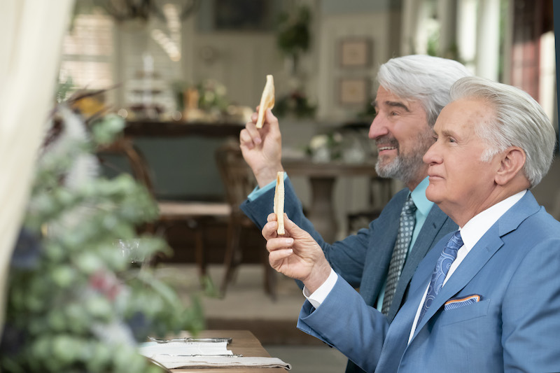 Sam Waterston and Martin Sheen in 'Grace and Frankie'