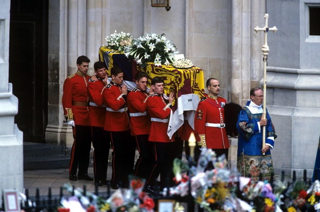 Princess Diana Funeral, London, Britain - 06 Sep 1997