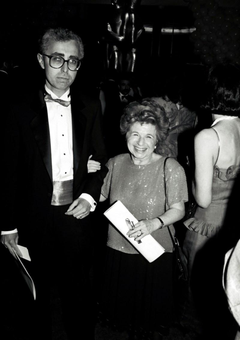 Dr. Ruth Westheimer Fred Westheimer