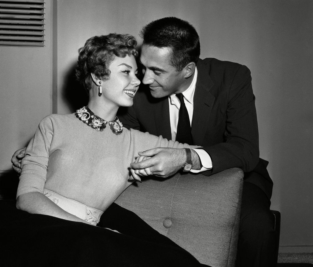 Mitzi gaynor and jack bean