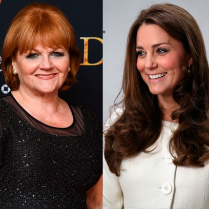 kate middleton with raquel cassidy and lesley Nicol