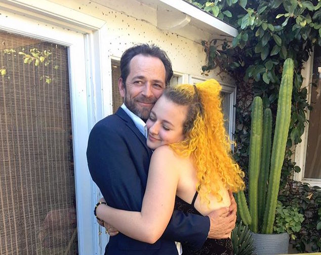 Luke Perry's Daughter Sophie Remembers Dad on His 53rd Birthday: 'Love You the Most'