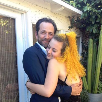 Luke Perry Sophie Perry