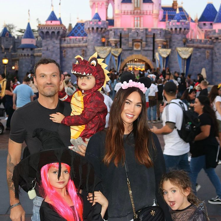 Megan Fox Shares Rare Family Photo of Husband Brian Austin Green and Their 3 Kids at Disneyland